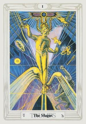 Magician Thoth Tara Tarot reader