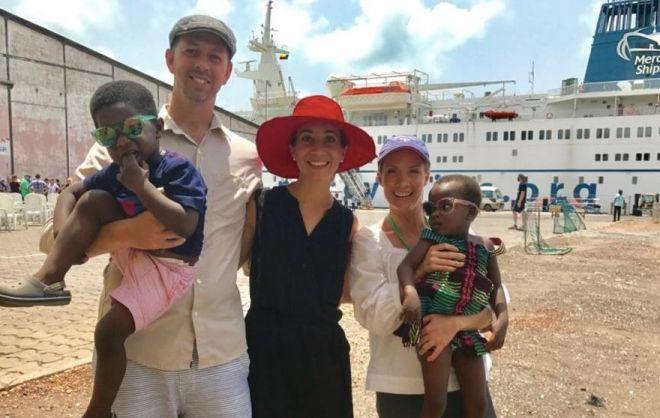 Dana Perino Mercy Ships 1