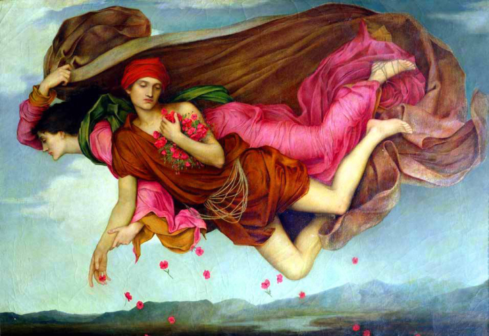 Evelyn De Morgan ~ Night and Sleep c. 1878