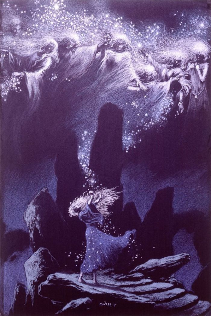 Artist Charles Vess