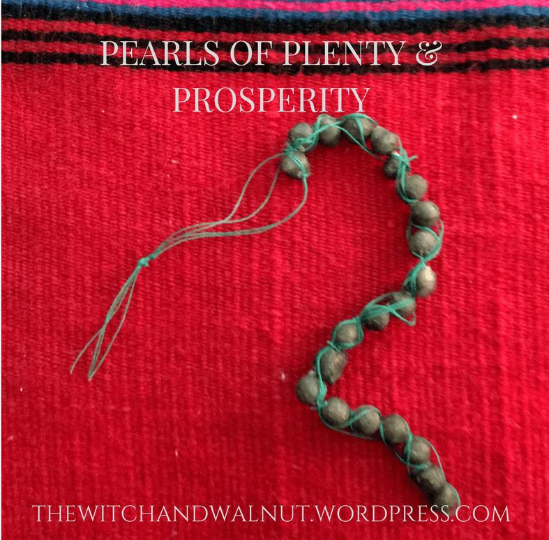 Bee's Wax Pearls of Plenty &Prosperity