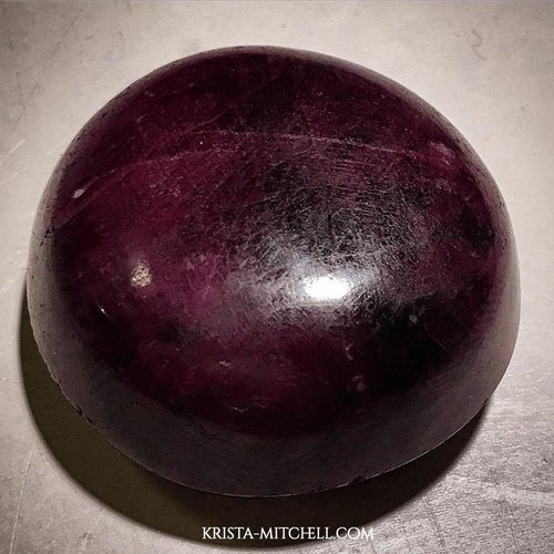 star ruby / krista-mitchell.com