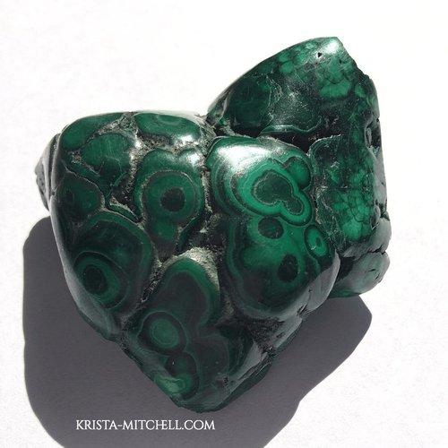 malachite / krista-mitchell.com