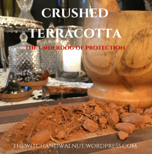 crushed terracotta