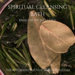 SPIRITUAL CLEANSING BATH
