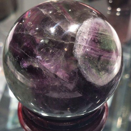 fluorite sphere / krista-mitchell.com