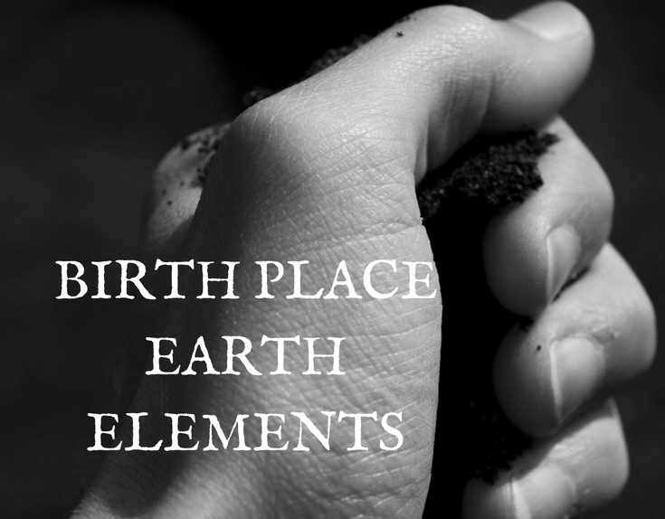 Birth Place Elements On Your Altar