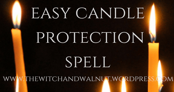 Easy Candle Protection Spell