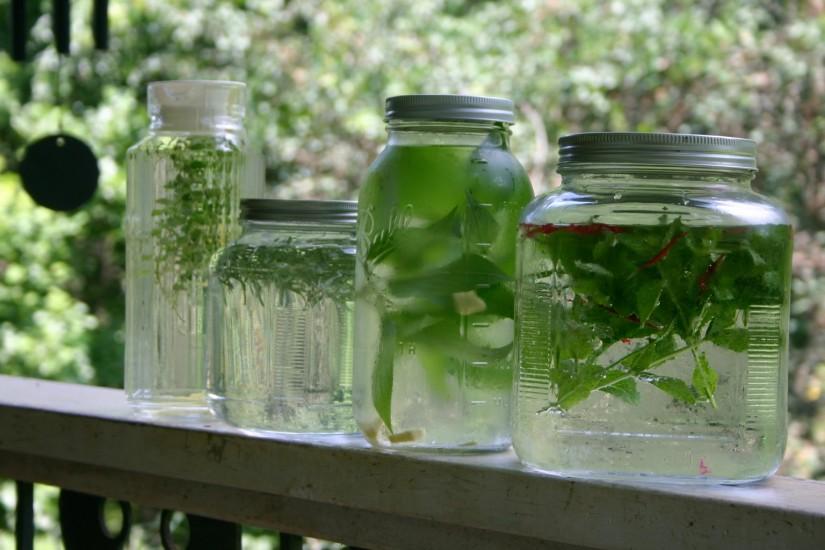 How to Brew Herbal SunTea