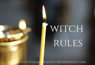 witch rules