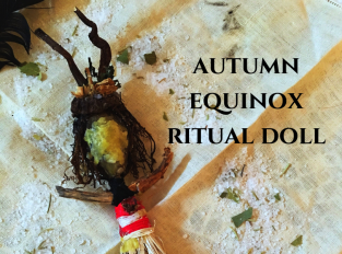 autumn equinox ritual doll