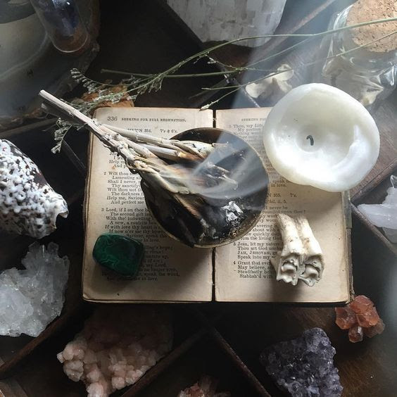 BUILD YOUR OWN ALTAR Using These CEREMONIAL HERBS