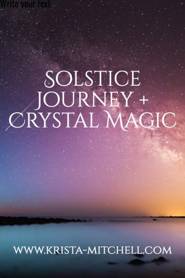 Solstice-magic / krista-mitchell.com
