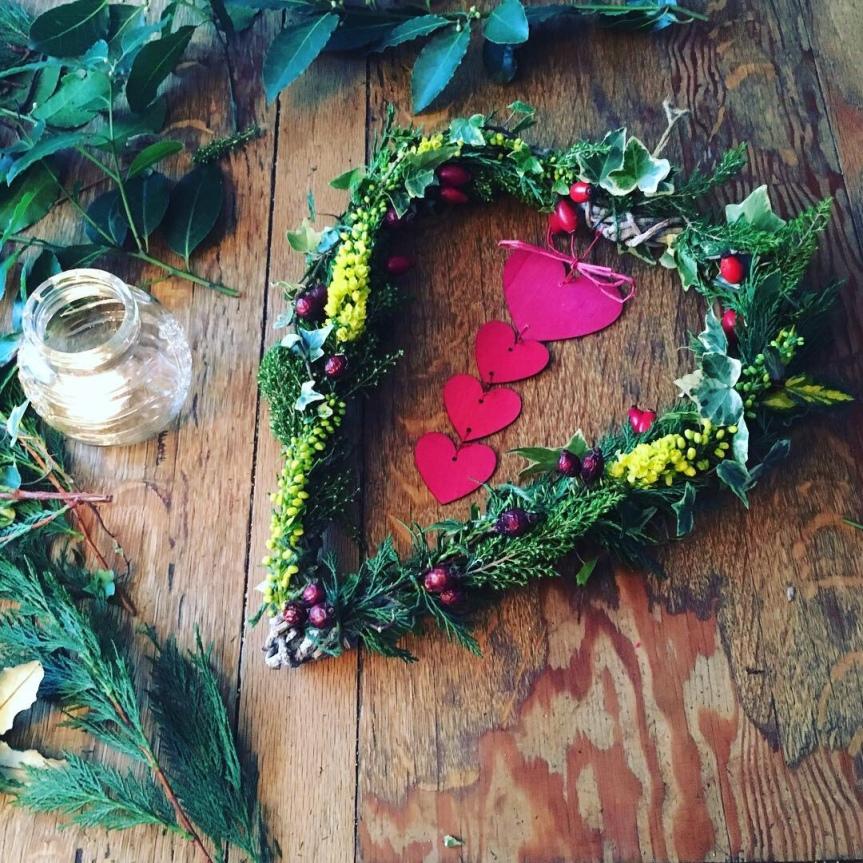 Seasonal Yule Wreath