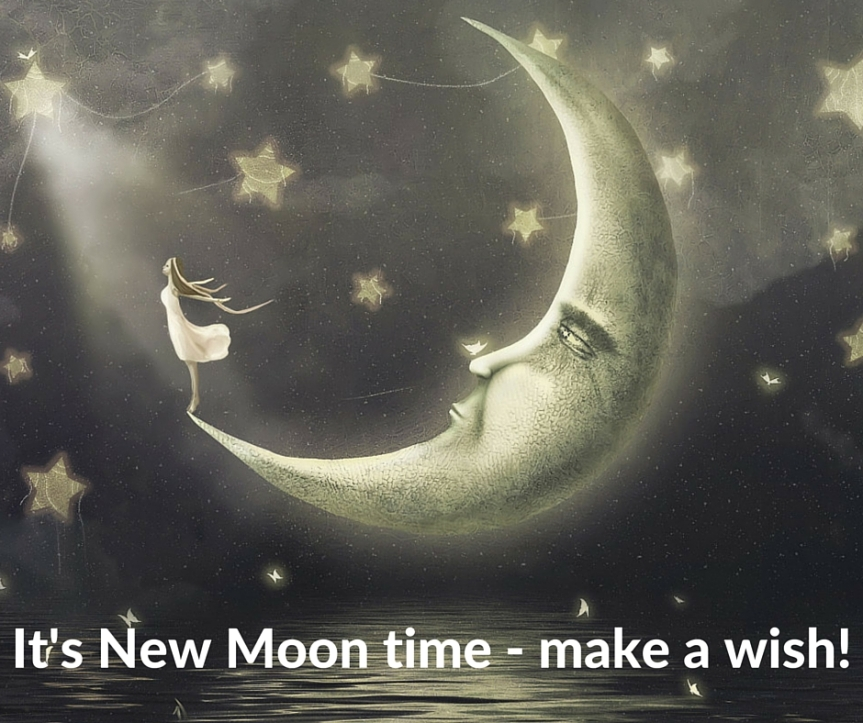 New Moon in Pisces…