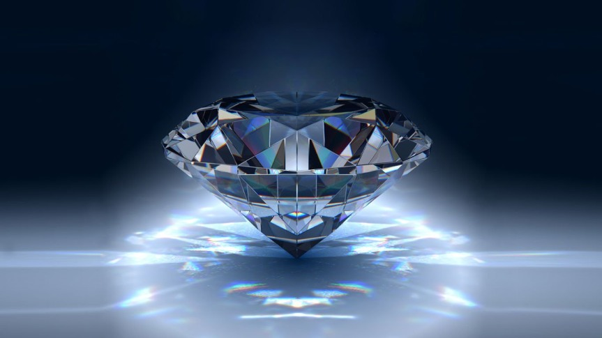 Happy birthday April babies! Your birthstone, the diamond, is the rich cousin of graphite.