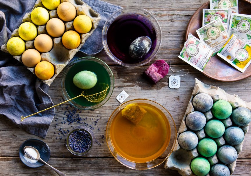 Holiday Egg Dyeing with Herbs – TraditionalMedicinals