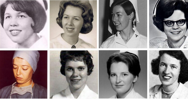 The Eight Women on The Wall: Nurses Who Made the Ultimate Sacrifice