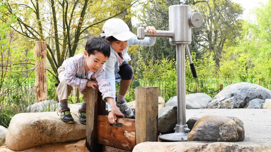 Children's Garden opens at Kew Gardens helping kids to learn about what plants need togrow