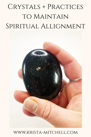 Crystals + Practices to Maintain Spiritual Allignment / Alignment -- power word for 2020 that keeps you in the flow of synchronicity, your soul's vision, and your life purpose.