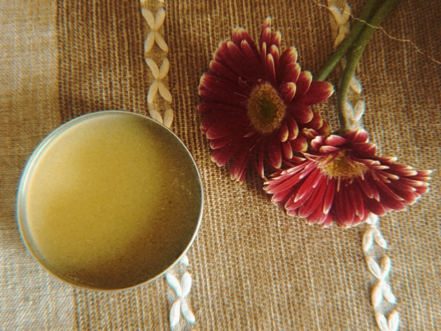 Muscle Ache Balm with Lavender and Rosemary