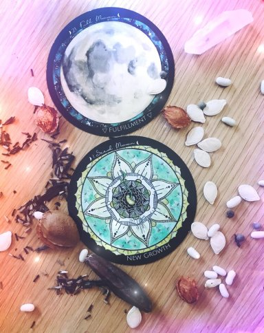 Full Supermoon Seed Moon in Virgo Planting Intention Ceremony