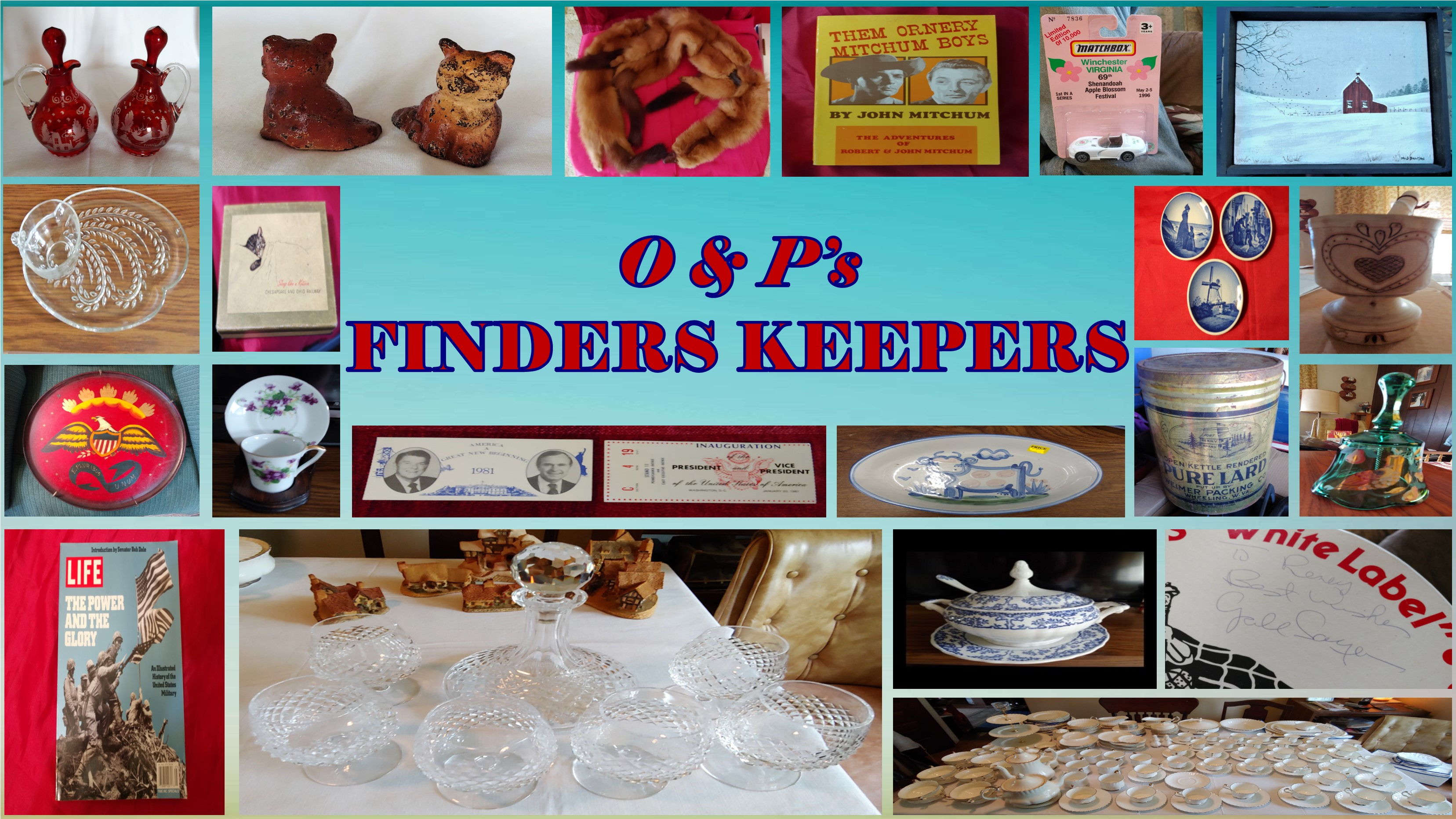 O & P's Finders Keepers