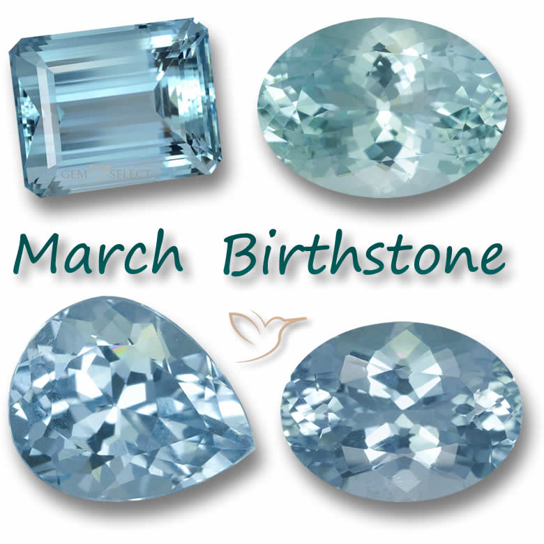 March Birthstone: Not just Aquamarine you have anotherchoice!