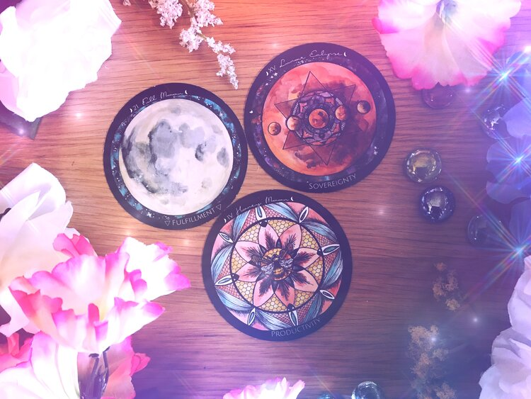 Honey Moon Eclipse Candle and Fire Ritual