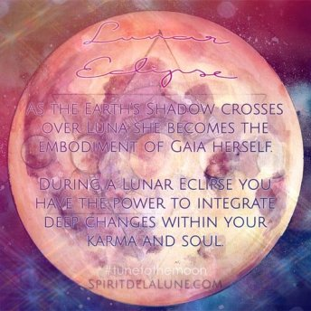 Spirit de la Lune | Honey Moon Eclipse Candle and Fire Ritual