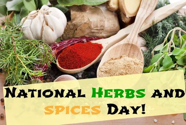 NATIONAL HERBS AND SPICES DAY