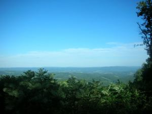 The Laurel Highlands - Overlooking the mountains