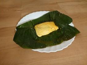 pastelles on leaf