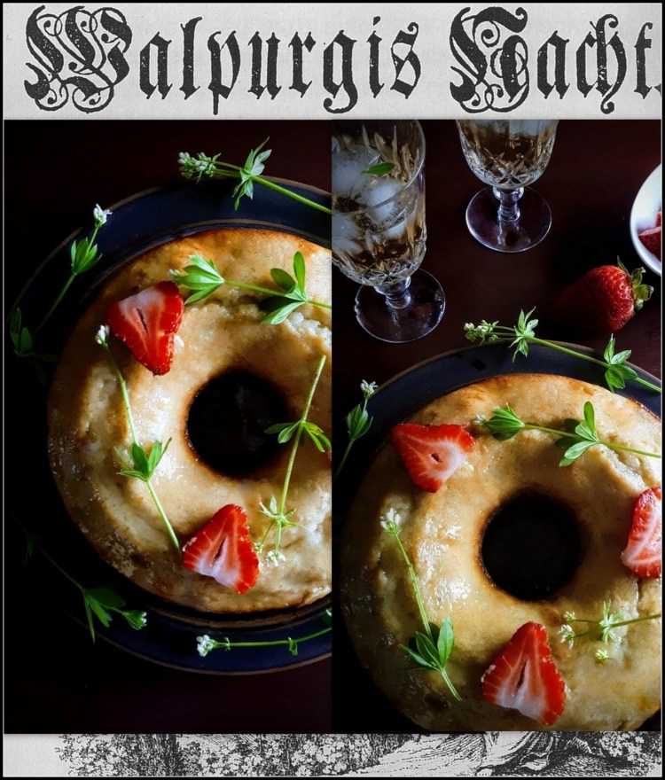 Bewitching Maibowle Cream Cake For Walpurgis Nacht (May Day Eve) – GatherVictoria